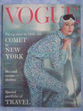 Vogue Magazine - 1959 - January